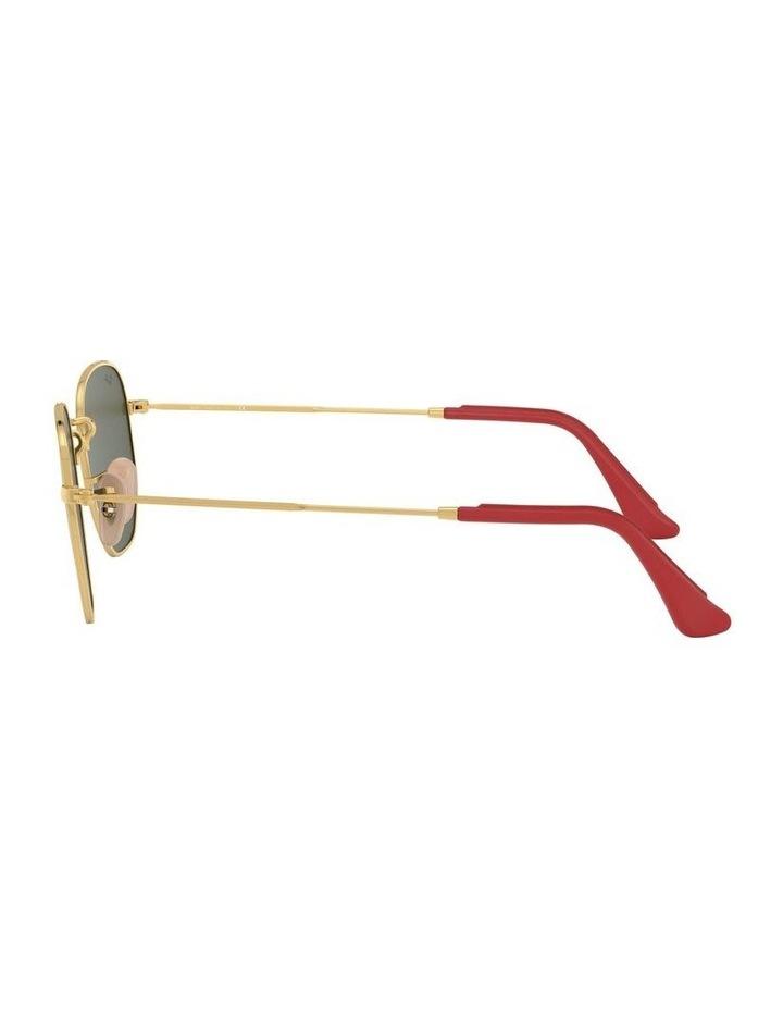 Ferrari Gold Hexagonal Sunglasses 0RB3548NM 1517173003 image 4
