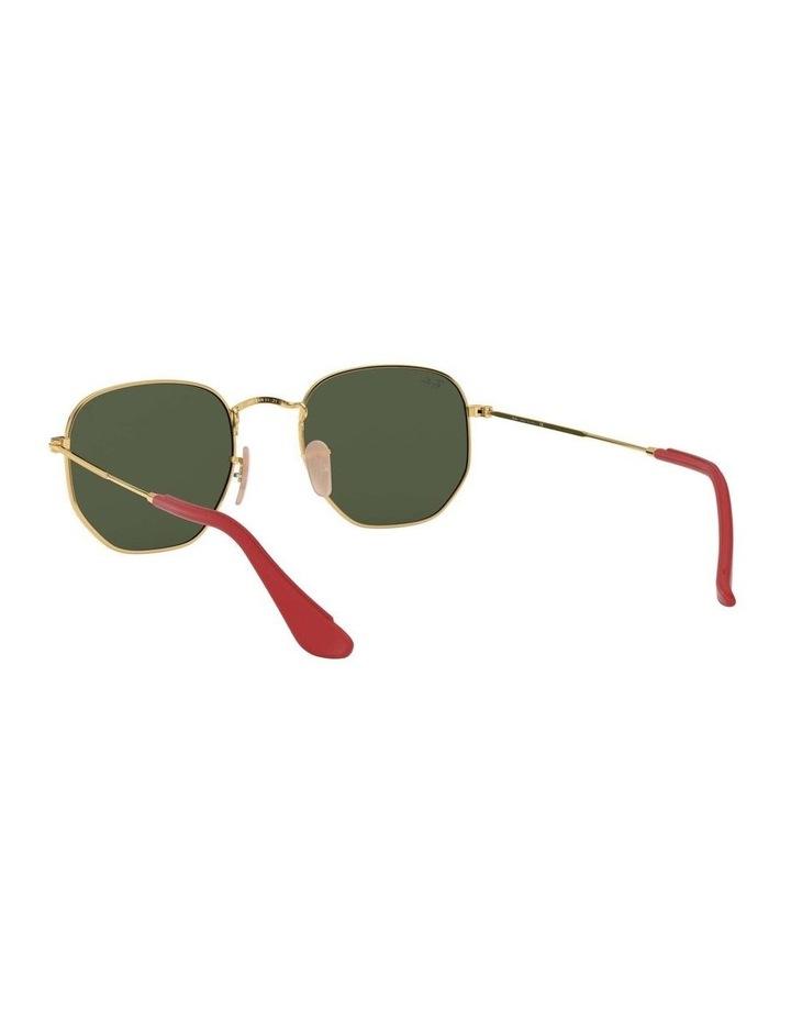 Ferrari Gold Hexagonal Sunglasses 0RB3548NM 1517173003 image 6