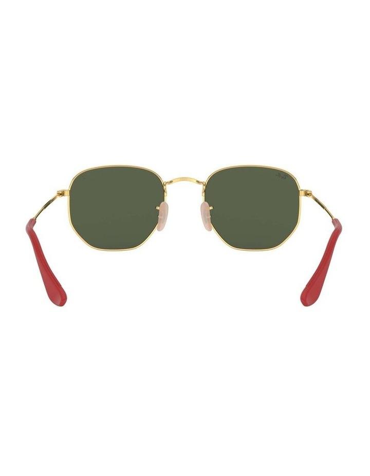 Ferrari Gold Hexagonal Sunglasses 0RB3548NM 1517173003 image 7
