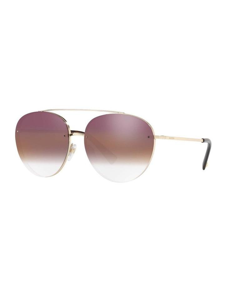 Gold Aviator Sunglasses VA2009 408799 image 1