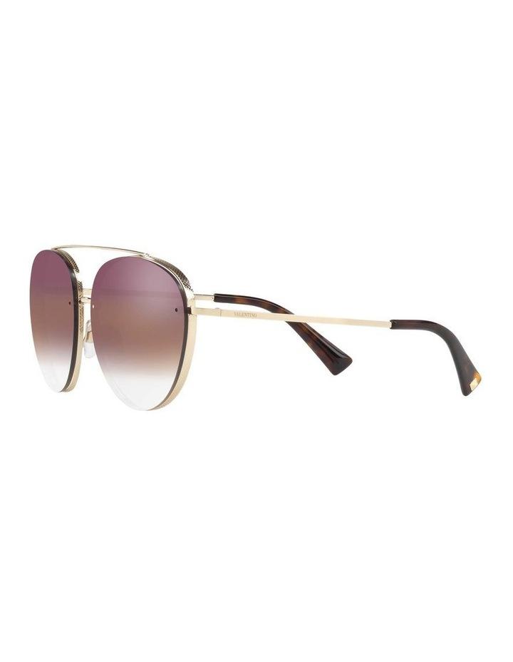 Gold Aviator Sunglasses VA2009 408799 image 3