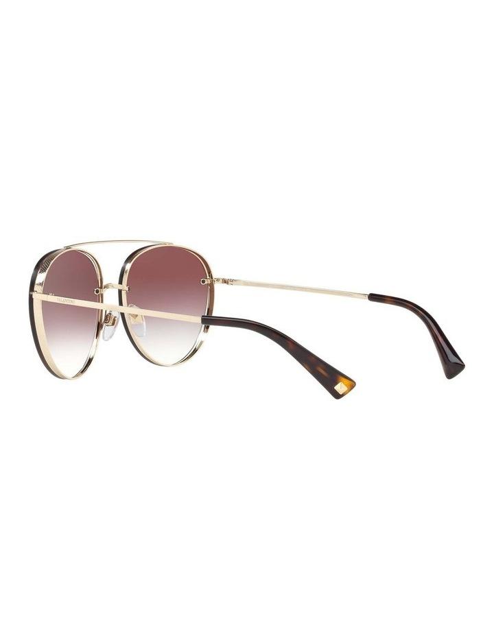 Gold Aviator Sunglasses VA2009 408799 image 5