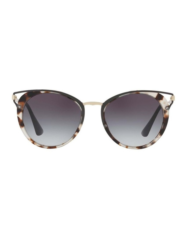 Tortoise Round Sunglasses PR 66TS 409643 image 2