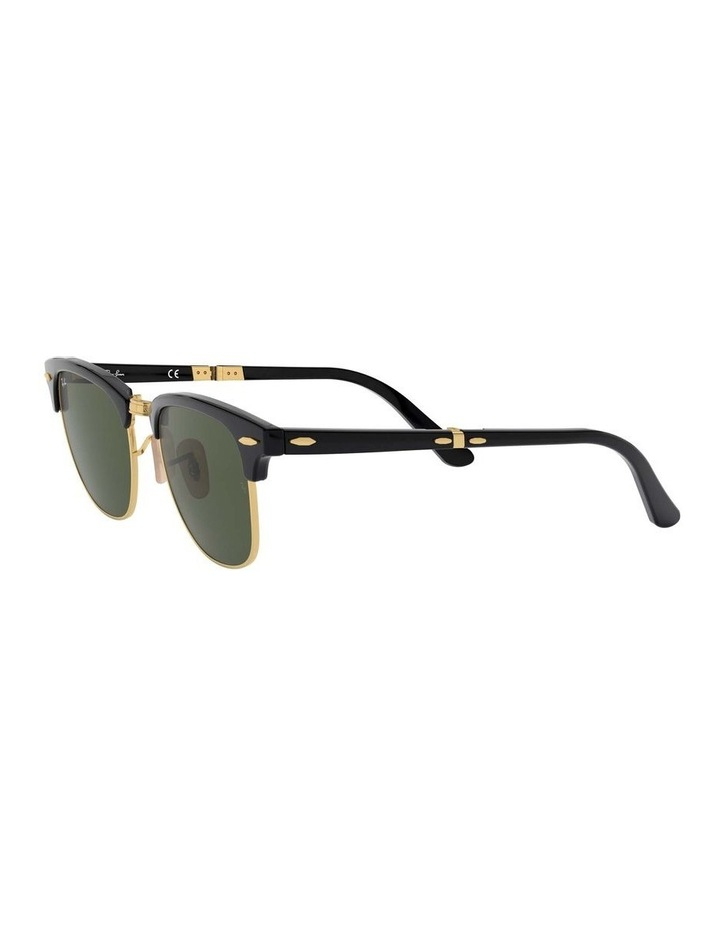 0RB2176 Clubmaster Folding 1135244001 Sunglasses image 3