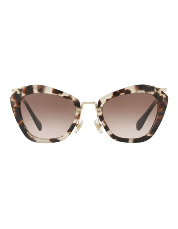 bb0e55ed5e0 Miu Miu MU10NS 408807 Sunglasses