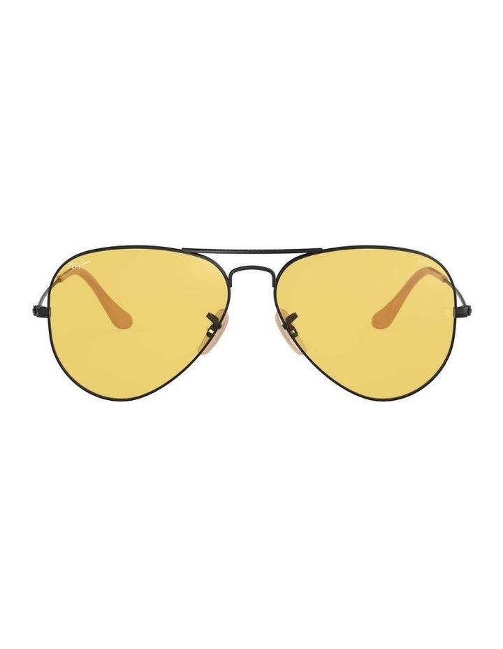 Aviator Large Metal Black Sunglasses 0RB3025 1062739132 image 2