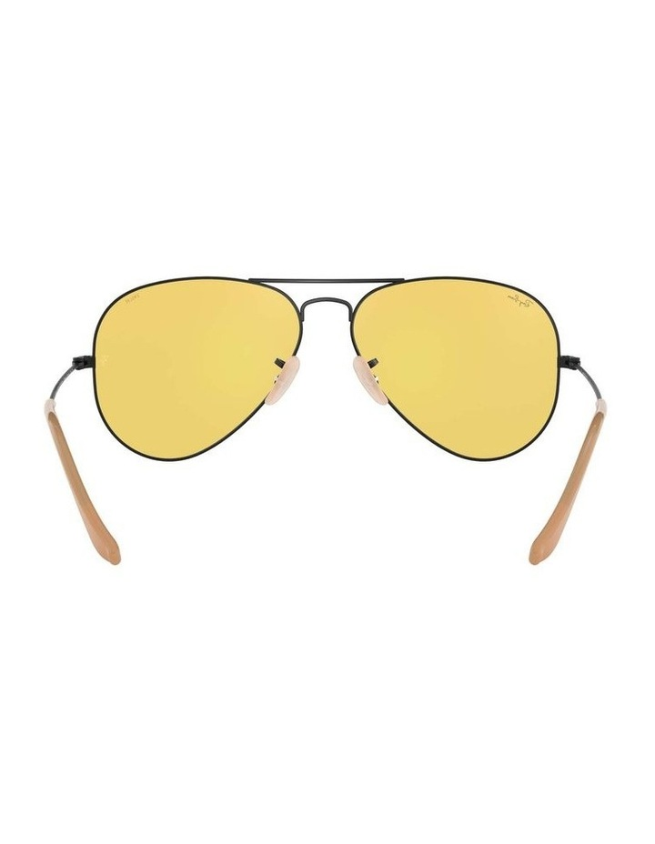 Aviator Large Metal Black Sunglasses 0RB3025 1062739132 image 7