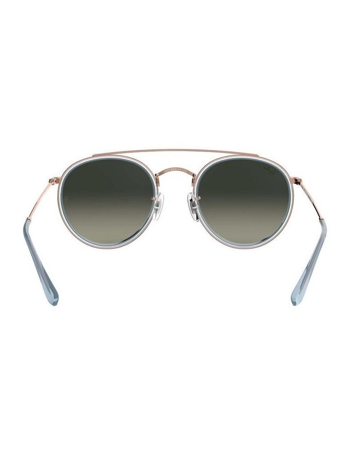 Round Double Bridge Blue Sunglasses 0RB3647N 1515587013 image 7