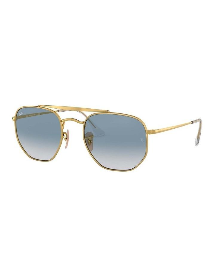 The Marshal Gold Hexagonal Sunglasses 0RB3648 1517424002 image 1