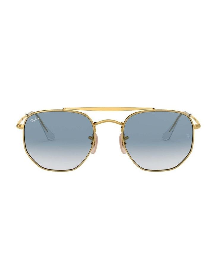 The Marshal Gold Hexagonal Sunglasses 0RB3648 1517424002 image 2