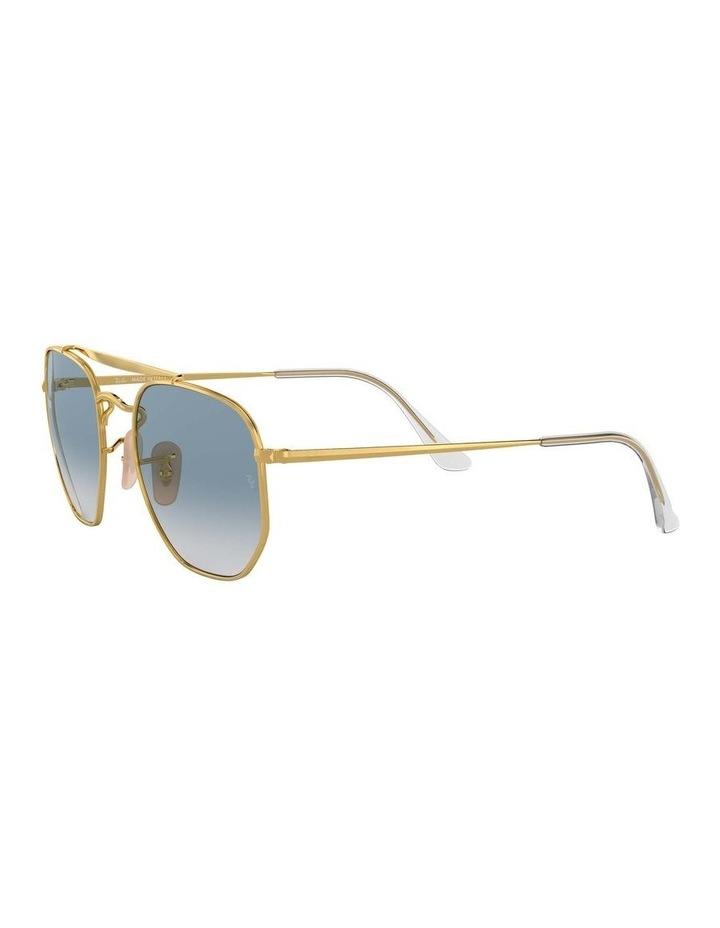 The Marshal Gold Hexagonal Sunglasses 0RB3648 1517424002 image 3