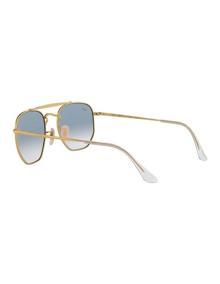 The Marshal Gold Hexagonal Sunglasses 0RB3648 1517424002 image 5