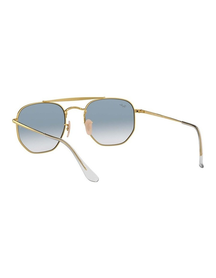 The Marshal Gold Hexagonal Sunglasses 0RB3648 1517424002 image 6