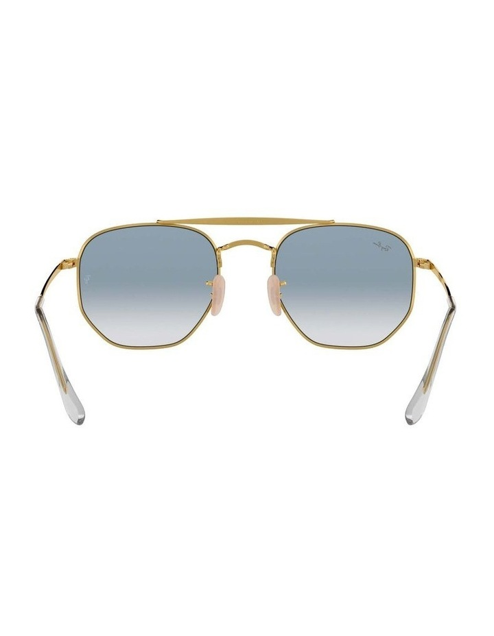 The Marshal Gold Hexagonal Sunglasses 0RB3648 1517424002 image 7