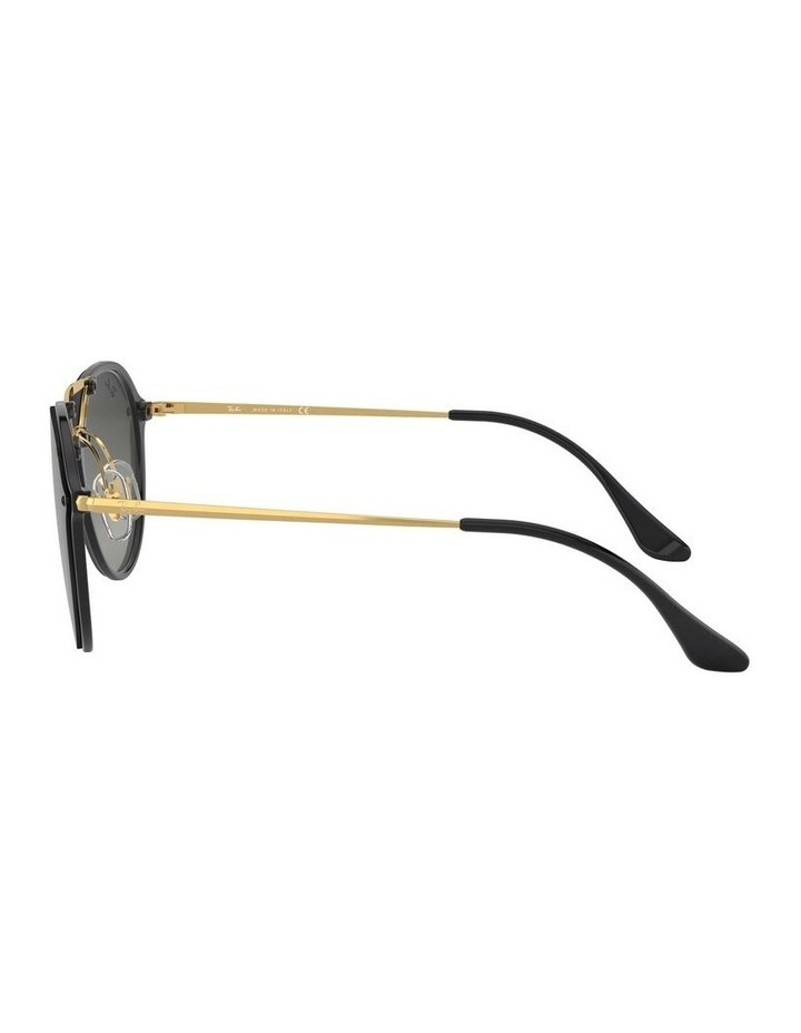 Blaze Doublebridge Black Round Sunglasses 0RB4292N 1517395004 image 4