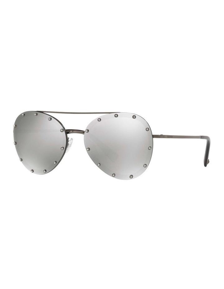 Gunmetal Aviator Sunglasses VA2013 412611 image 1