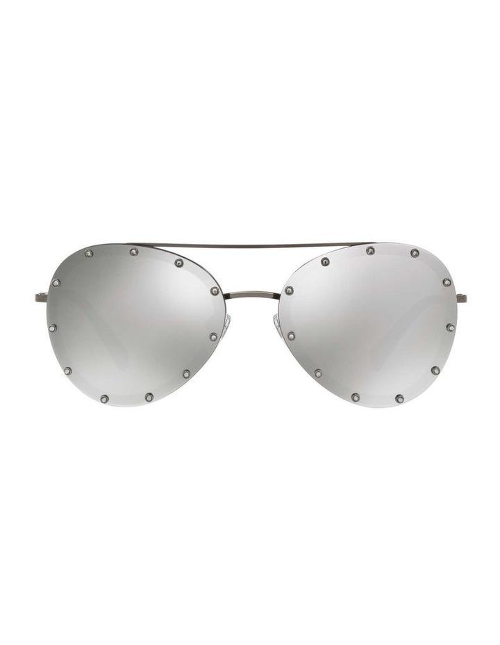 Gunmetal Aviator Sunglasses VA2013 412611 image 2
