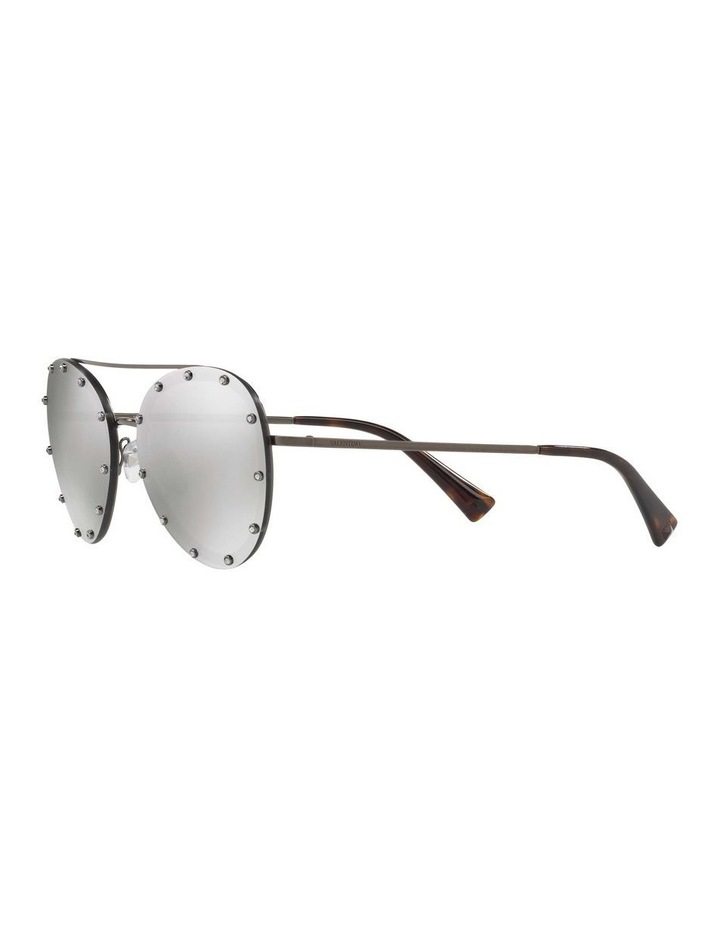 Gunmetal Aviator Sunglasses VA2013 412611 image 3
