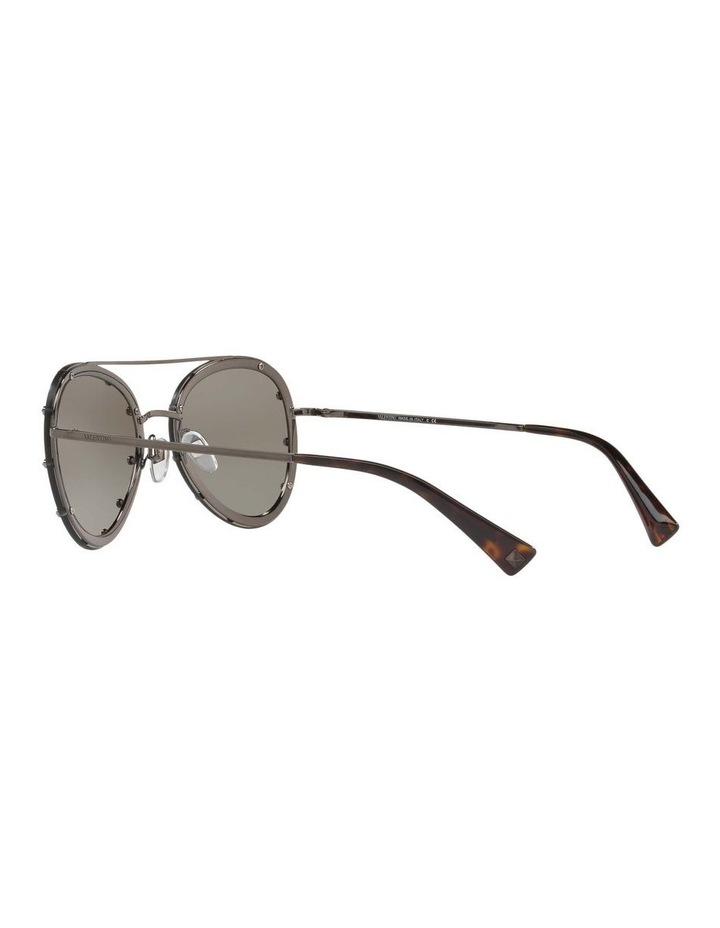 Gunmetal Aviator Sunglasses VA2013 412611 image 5