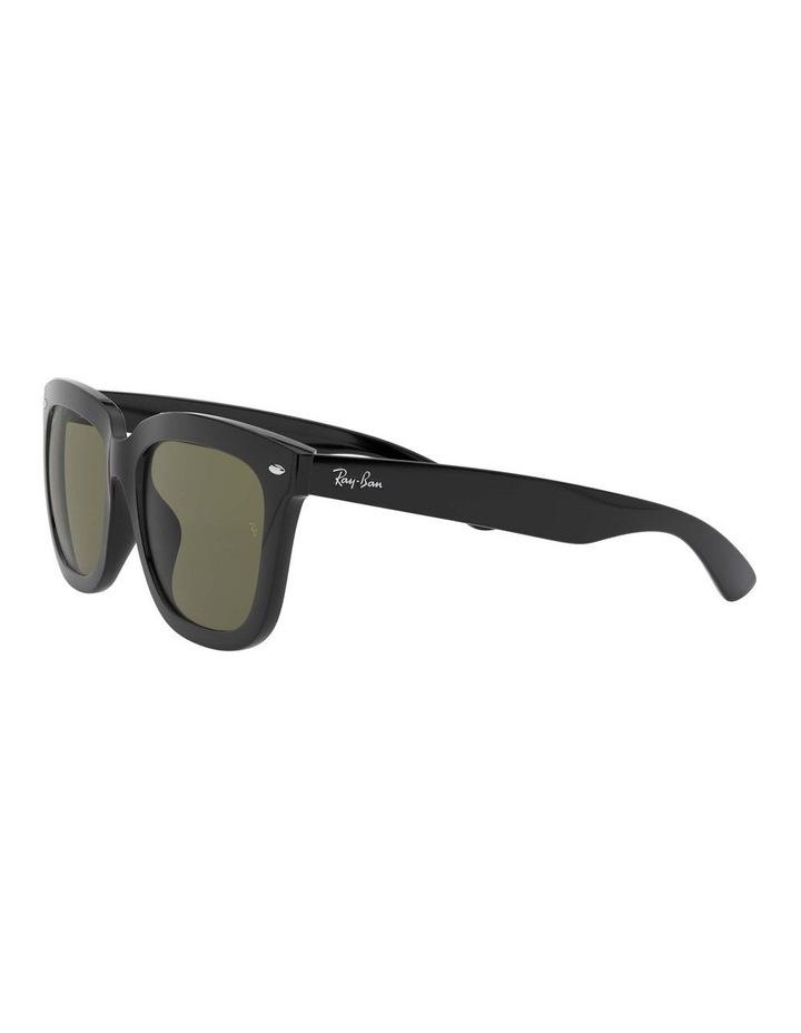Polarised Black Square Sunglasses 0RB4262D 1516911004 image 3