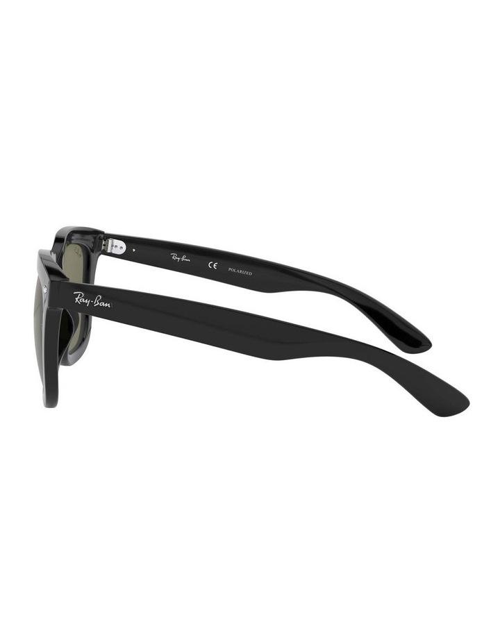 Polarised Black Square Sunglasses 0RB4262D 1516911004 image 4