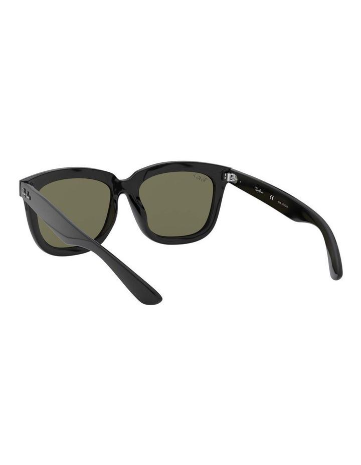 Polarised Black Square Sunglasses 0RB4262D 1516911004 image 6