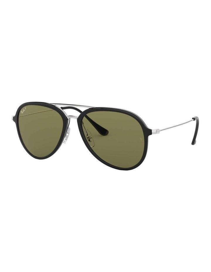 Polarised Black Pilot Sunglasses 0RB4298 1518555004 image 1