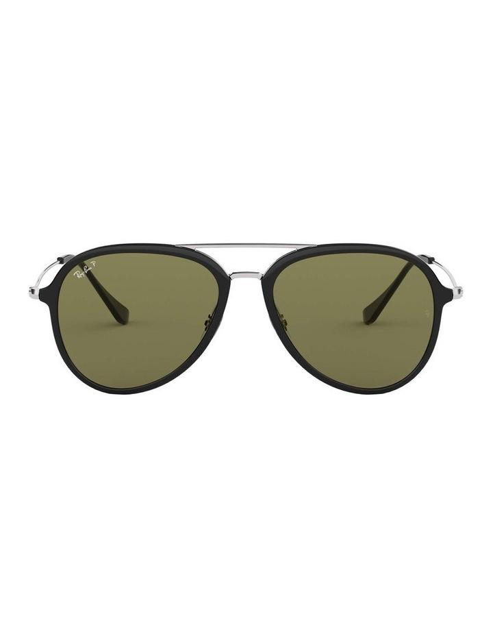 Polarised Black Pilot Sunglasses 0RB4298 1518555004 image 2