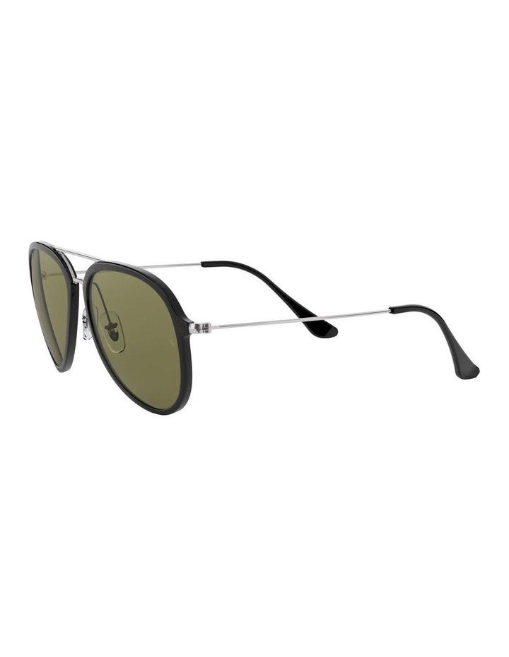Polarised Black Pilot Sunglasses 0RB4298 1518555004 image 3
