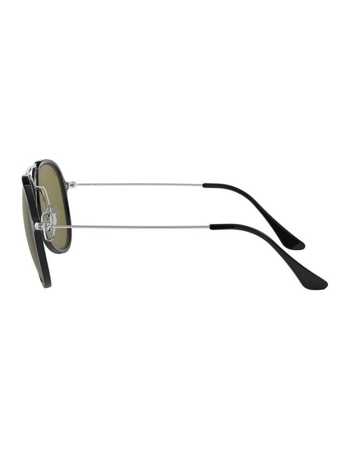 Polarised Black Pilot Sunglasses 0RB4298 1518555004 image 4