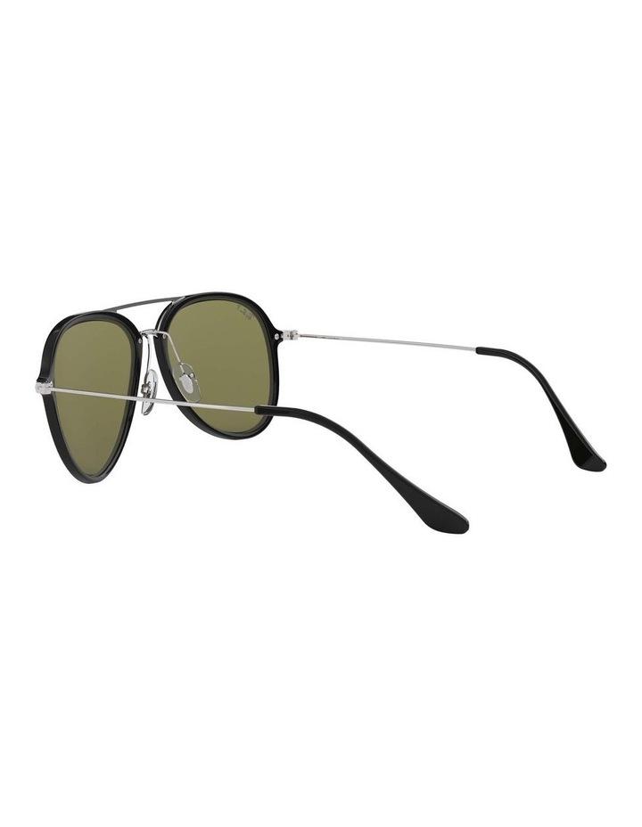 Polarised Black Pilot Sunglasses 0RB4298 1518555004 image 5