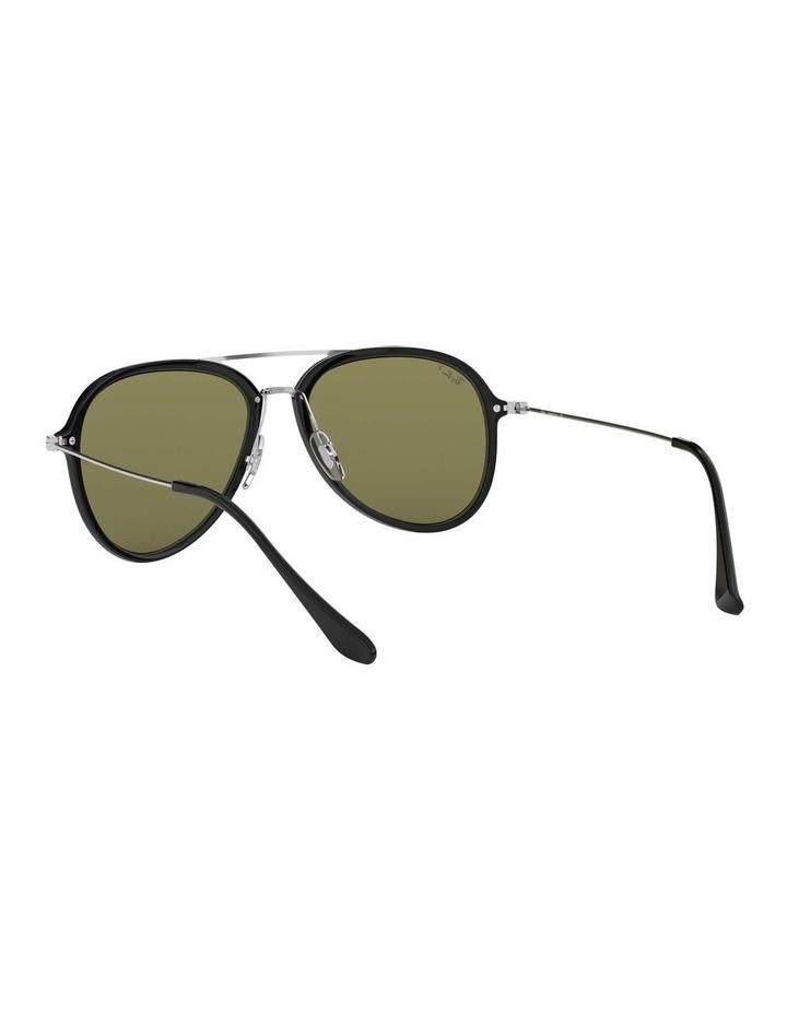 Polarised Black Pilot Sunglasses 0RB4298 1518555004 image 6