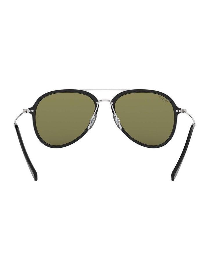 Polarised Black Pilot Sunglasses 0RB4298 1518555004 image 7