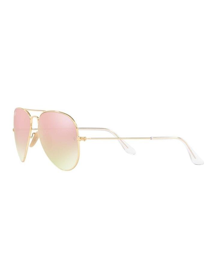 Aviator Large Metal Gold Sunglasses 0RB3025 1062739131 image 3