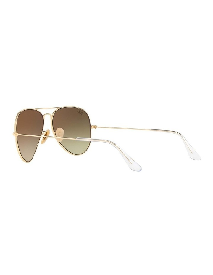 Aviator Large Metal Gold Sunglasses 0RB3025 1062739131 image 5