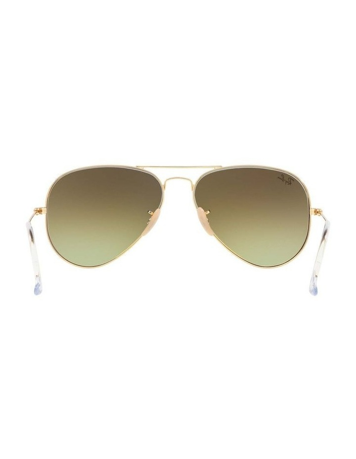 Aviator Large Metal Gold Sunglasses 0RB3025 1062739131 image 7