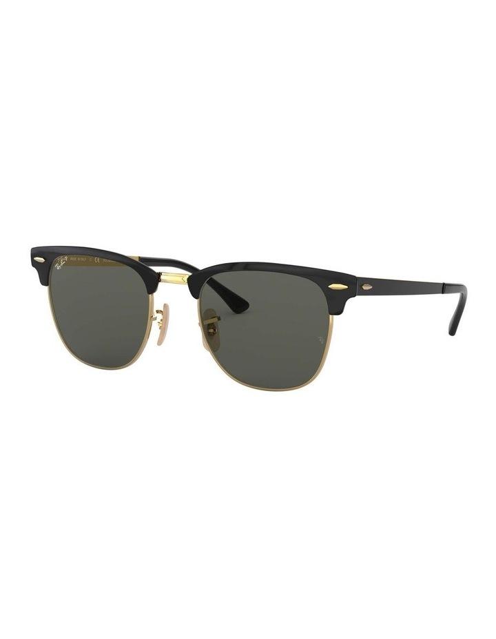 Clubmaster Metal Polarised Gold Sunglasses 0RB3716 1518519004 image 1