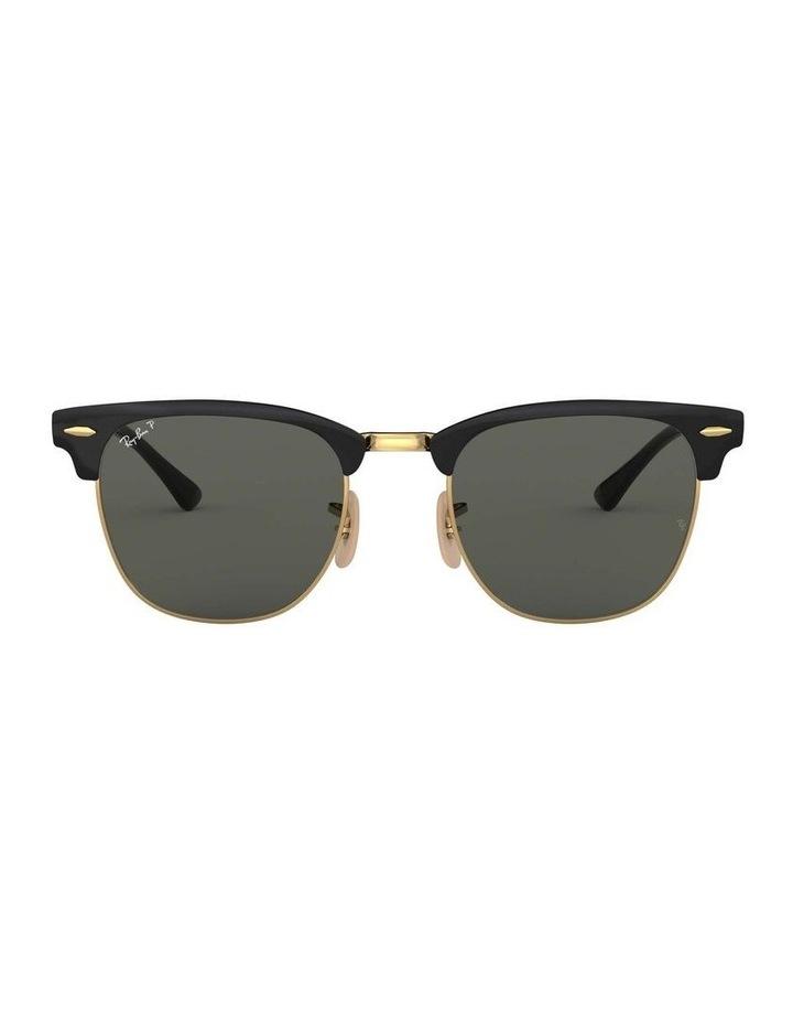 Clubmaster Metal Polarised Gold Sunglasses 0RB3716 1518519004 image 2
