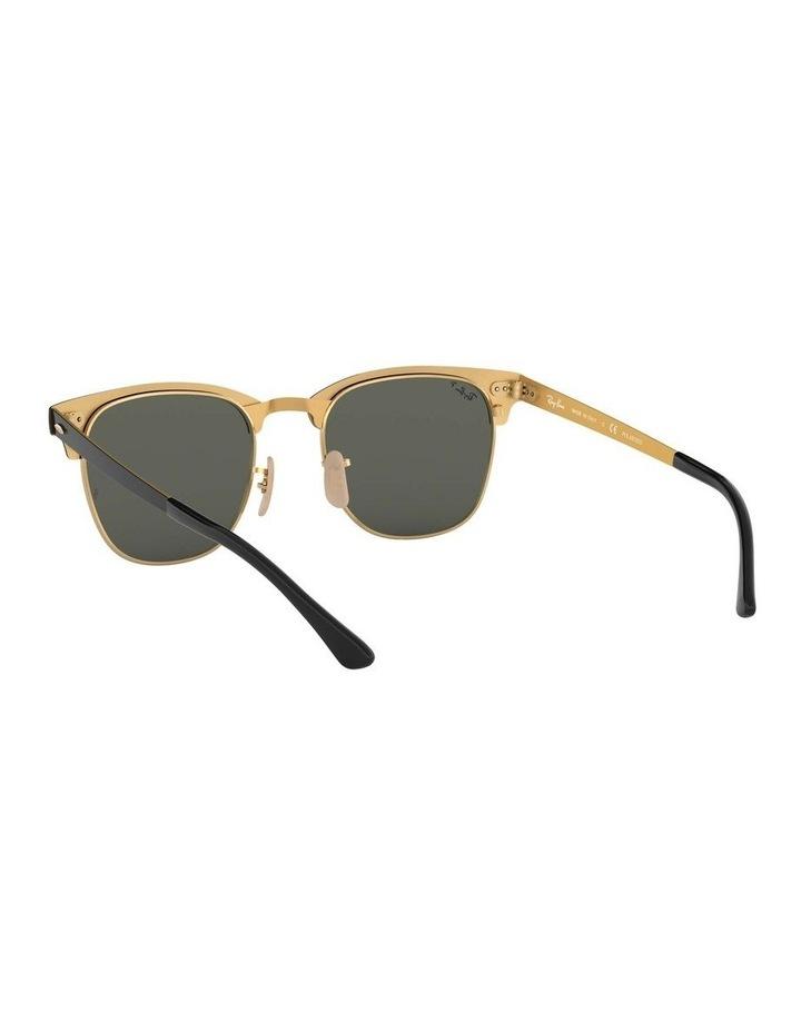 Clubmaster Metal Polarised Gold Sunglasses 0RB3716 1518519004 image 6