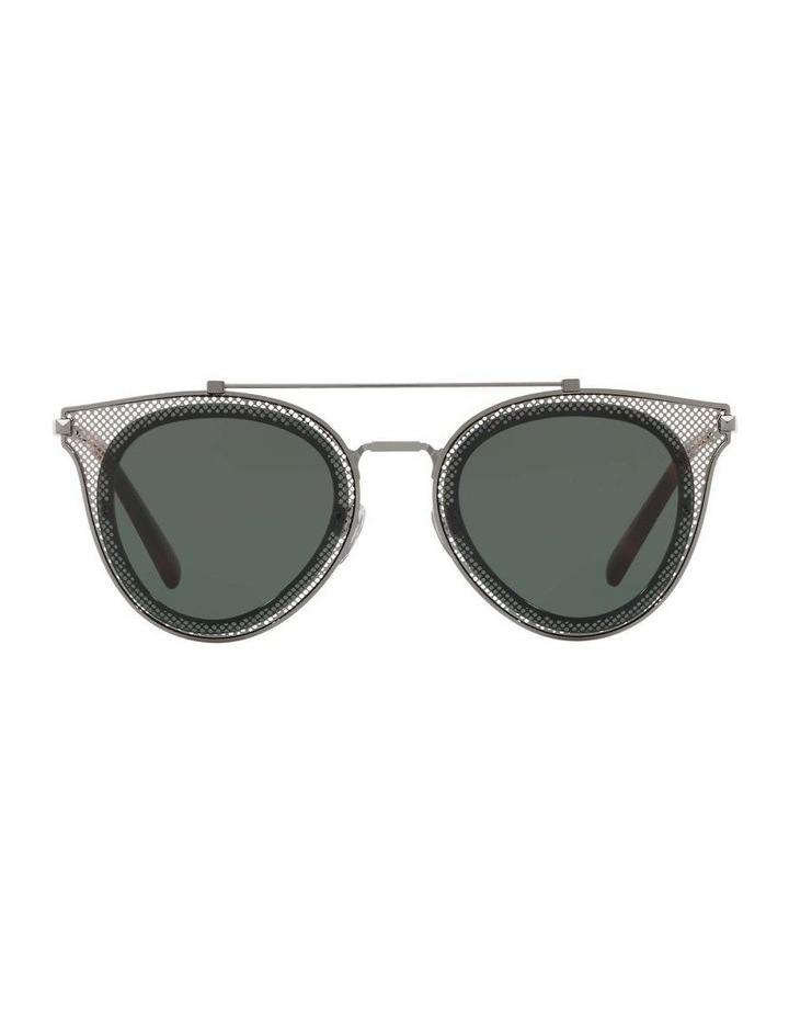 Green Cat Eye Sunglasses VA2019 434426 image 2
