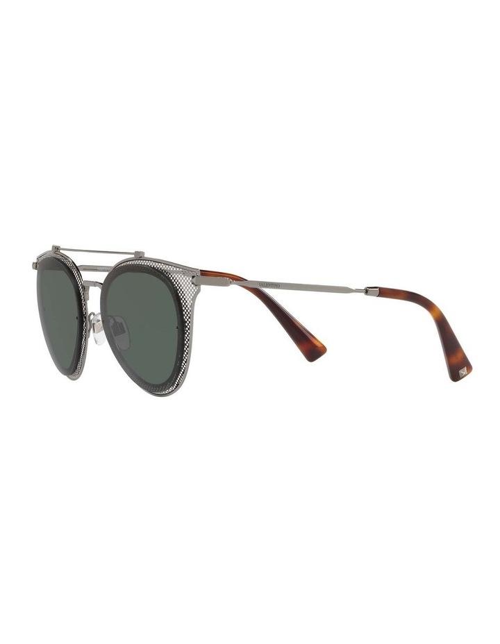 Green Cat Eye Sunglasses VA2019 434426 image 3