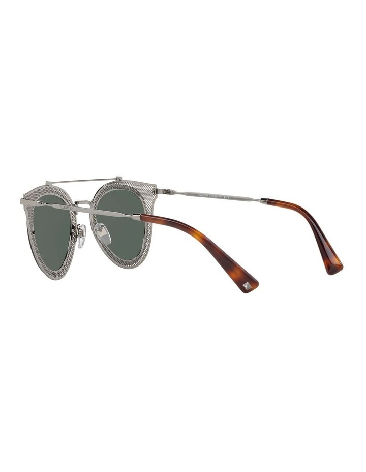 Green Cat Eye Sunglasses VA2019 434426 image 5