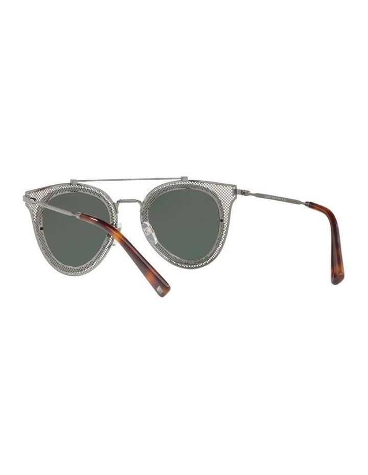 Green Cat Eye Sunglasses VA2019 434426 image 6