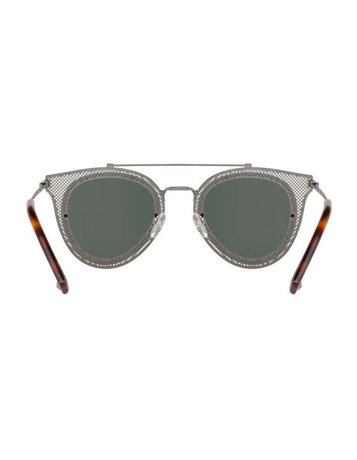 Green Cat Eye Sunglasses VA2019 434426 image 7