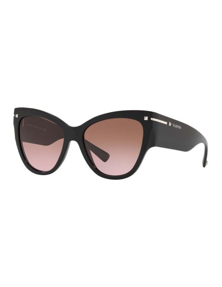 Brown Cat Eye Sunglasses VA4028 434427 image 1