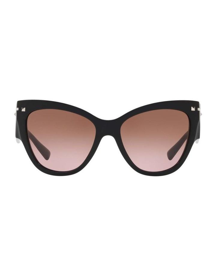 Brown Cat Eye Sunglasses VA4028 434427 image 2