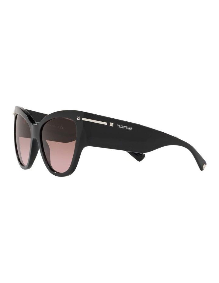 Brown Cat Eye Sunglasses VA4028 434427 image 3