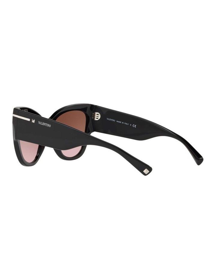 Brown Cat Eye Sunglasses VA4028 434427 image 5