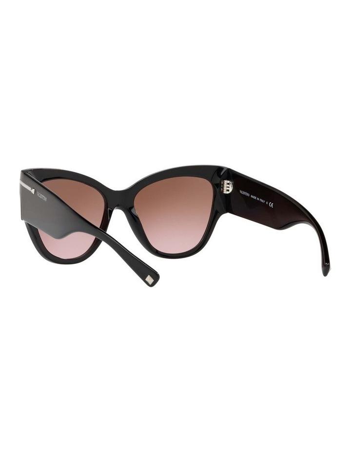 Brown Cat Eye Sunglasses VA4028 434427 image 6