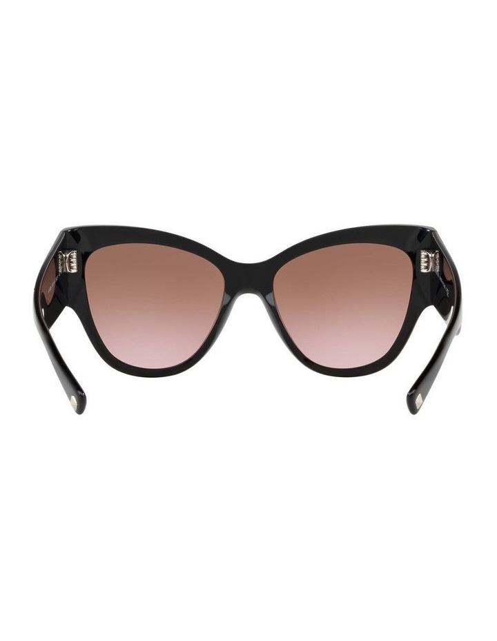 Brown Cat Eye Sunglasses VA4028 434427 image 7
